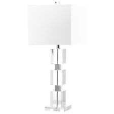 "Ice Palace Cube 28"" H Table Lamp with Square Shade"
