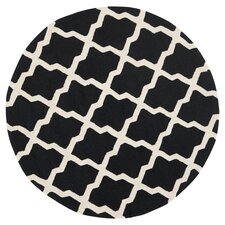Cambridge Black & Ivory Area Rug