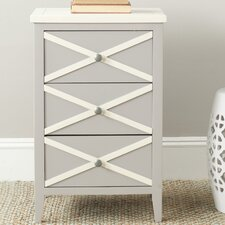 Sherrilyn 3 Drawer End Table