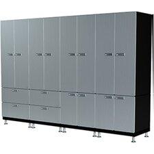 14 Piece Wall  Storage Cabinet Set