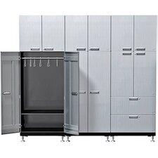 11 Piece Solution S72 Wardrobe Storage Cabinet Set