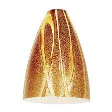 "7"" Safari Glass Bell Pendant Shade"
