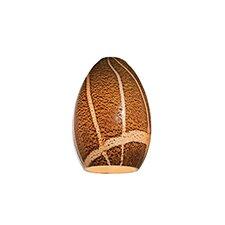 """4"""" Safari Glass Oval Pendant Shade"""