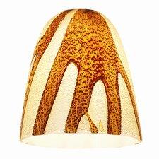 "4"" Safari Glass Bell Pendant Shade"