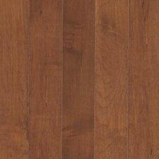 """Maple Ridge 2-1/4"""" Solid Maple Hardwood Flooring in Amaretto"""