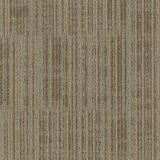 """Aladdin Get Moving  24"""" x 24"""" Carpet Tile in Sandstone"""