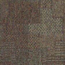 """Aladdin Design Medley  24"""" x 24"""" Carpet Tile in Ember Glow"""