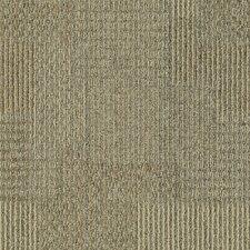 "Aladdin Design Medley  24"" x 24"" Carpet Tile in Canyon Stone"