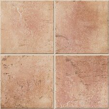 "Quarry Stone 12.5""x 12.5"" Porcelain Field Tile in Terra"