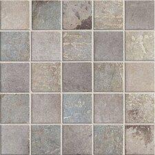 "Quarry Stone 2"" x 2"" Porcelain Mosaic Tile in Dark"