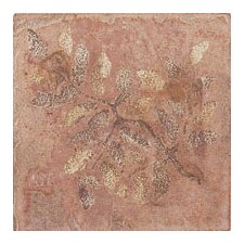 "Slate Quarry Stone 4"" x 4"" Decorative Corner Insert in Terra"