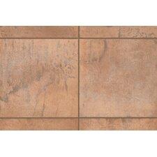 """Quarry Stone 1"""" x 1"""" Quarter Round Corner Tile Trim in Amber"""