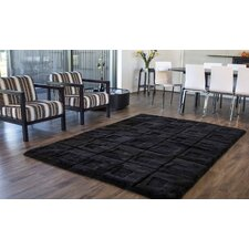 Shortwool Design Orbit Black Area Rug