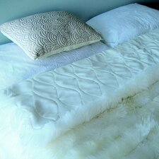 Bowron Accessories Lambskin Minx Wool Throw