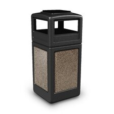Stonetec Series 42-Gal Panel with Ashtray Dome Lid