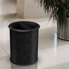 Green Zone Precision Series Vinyl Wrap InRoom 3.2 Gallon Recycling Waste Basket