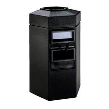 35 Gallon Large Island Convenience Center in Black