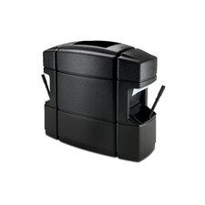 35 Gallon Double Sided Island Convenience Center in Black