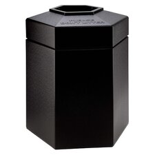 PolyTec 45-Gal Hex Waste Container