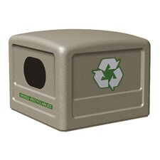 Recycle 38 Dome Lid with Decal