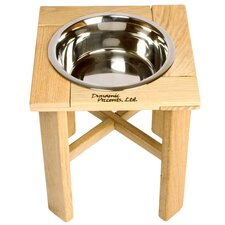 "Amish Handcrafted 6"" Outdoor Single Feeder"
