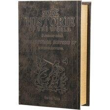 Key Lock Antique Book Safe