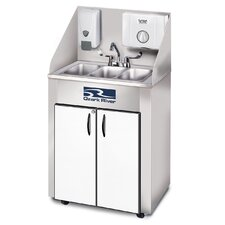 "Elite 26"" x 18"" Triple Pro 3 Hand-Wash Sink"