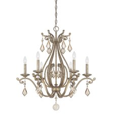 Rothchild 6 Light Candle Chandelier