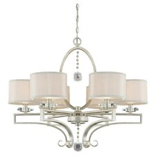 Rosendal 6 Light Chandelier