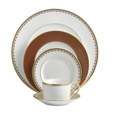Lismore Diamond Cinnabar Dinnerware Collection