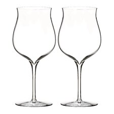Elegance Burgundy Dessert Wine Glass (Set of 2)
