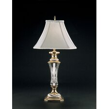 "Florence Court 29.5"" H Table Lamp with Bell Shade"