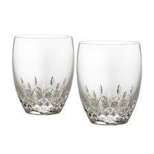 Lismore Essence Double Old Fashioned Glass (Set of 2)