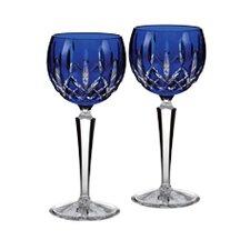 Lismore Cobalt Wine Glass (Set of 2)