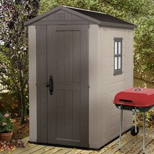 Factor 4 Ft. W x 6 Ft. D Resin Storage Shed