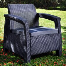 Corfu All Weather Outdoor Armchair with Cushions