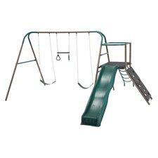 6 Piece Climb and Slide Play Swing Set