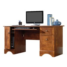 Computer Desk with 2 Storage Drawers
