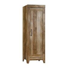 "Adept 22.68"" Narrow Storage Cabinet in Craftsman Oak"