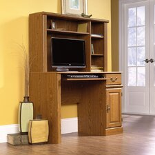"""Orchard Hills 57"""" Computer Desk with Hutch"""