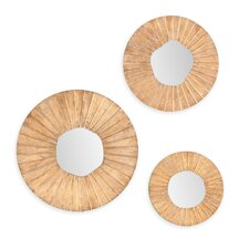 Lupe 3 Piece Wall Mirror Set