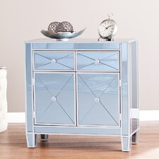 Prisco Mirrored Accent Cabinet