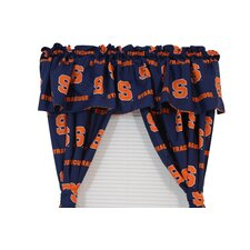 "NCAA Syracuse 84"" Curtain Valance"