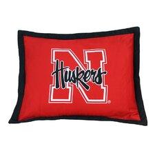 NCAA Nebraska Pillow Sham