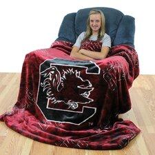 NCAA South Carolina Throw Blanket
