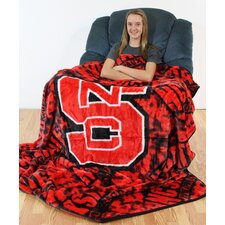 NCAA North Carolina State Throw Blanket