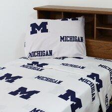NCAA Michigan Sheet Set