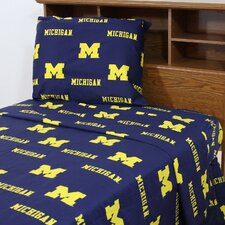 NCAA Michigan Sheet Set