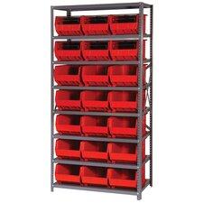 Giant Open Hopper Shelf Storage System