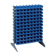Double Sided Steel Rail Rack with Various Bin Sizes (Complete Package)